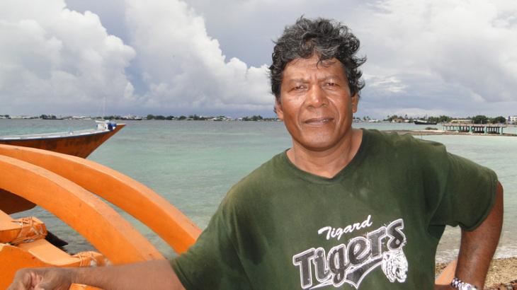Binton Daniel - Master Canoe Builder