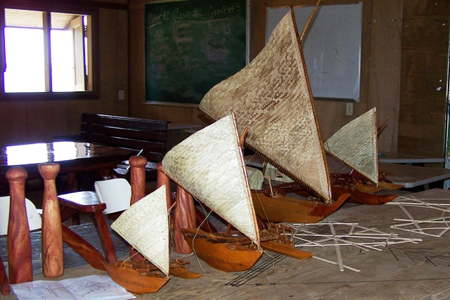 Model canoe diferent sizes