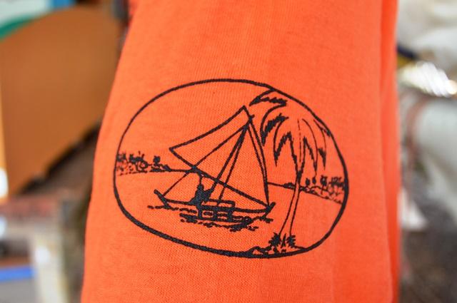 WAM logo on t-shirt