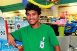 Alumni Mack Jemlak was a WAM trainee in 2012 and was hired on by K&K Island Pride Supermarket in Delap.