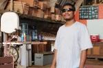 Alumni Maston Aikim is a graduate of the 2001 WAM program and is now an apprentice canoe builder at WAM.