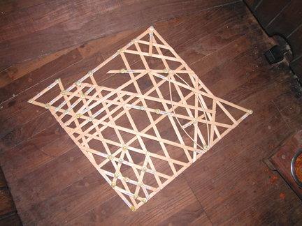 Traditional Marshallese Stick chart