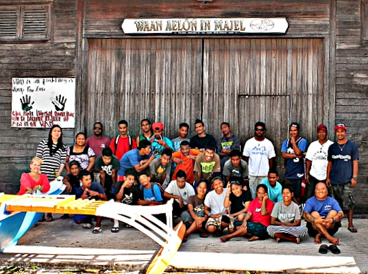 WAM Trainees 2016 and staff. Photo: volunteer