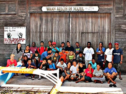 WAM Trainees 2016 and staff. Photo: volunteer