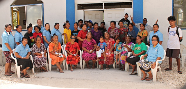 WAM Trainees and staff of Wellness Center and Ministry of Health. Photo: Linton Baso