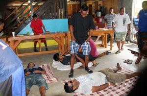WAM trainees learn how to help in emergency situations. Photo: WAM